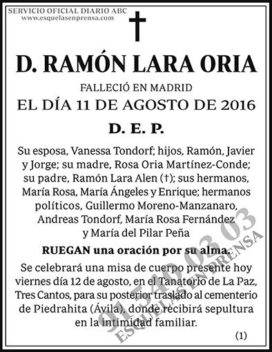 Ramón Lara Oria